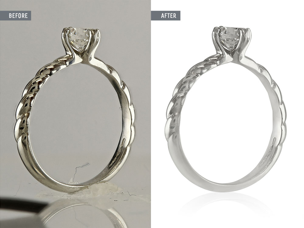 jewellery photo editing service