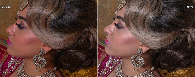 wedding image background retouching