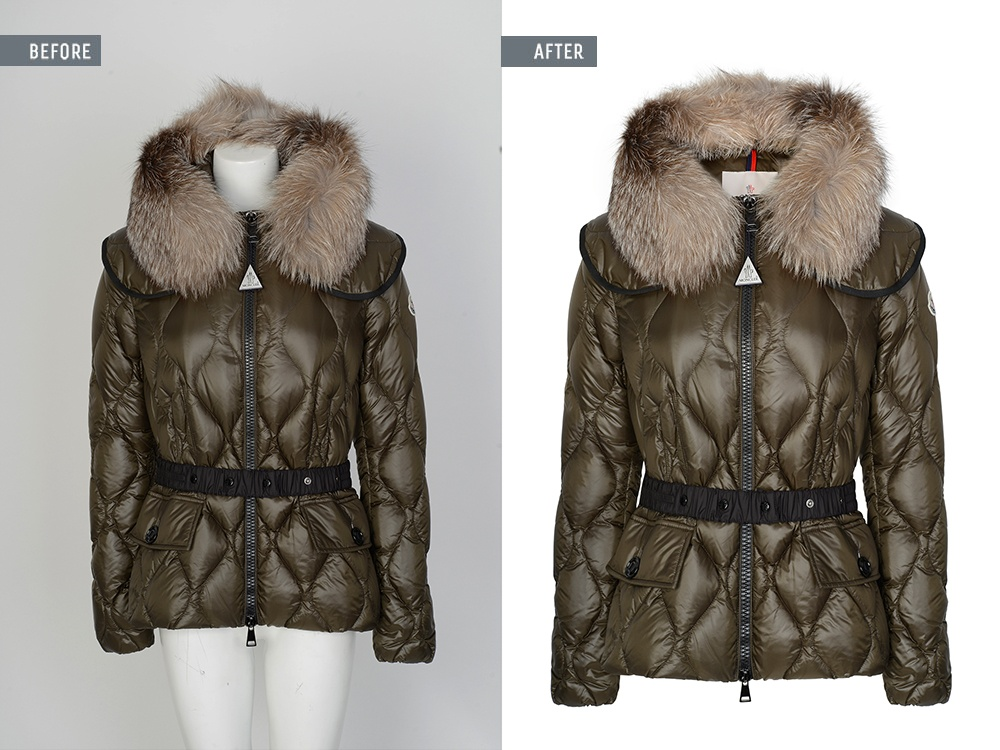Invisible Mannequin Image Editing