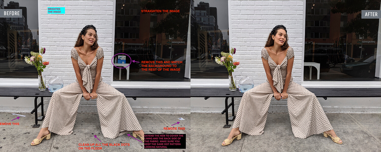 fashion photography retouching