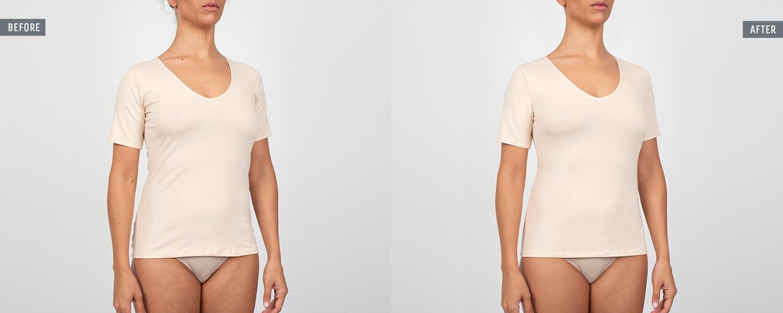 underwear cloth shaping